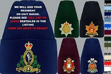 UNITS N TO Z EMBROIDERED ROYAL CANADIAN ARMY NAVY AIR FORCE BEANIE HAT
