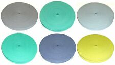 """COTTON BIAS BINDING TAPE FOLDED, 1/2""""/12MM, 33MTR ROLL VARIOUS COLOURS"""
