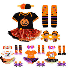 Baby Infant Girls Halloween Romper Outfits Clothes Costume Bodysuit Fancy Dress