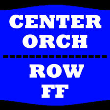 2 TIX SINBAD 12/1 ORCH CENTER ROW FF KESWICK THEATRE GLENSIDE