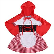 Halloween Infant Baby Girls Party Cosplay Fancy Dress Hooded Cloak Costume 6-18M