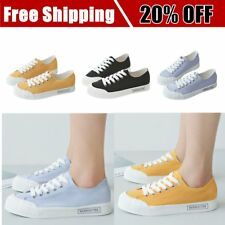 RENBEN Canvas Shoes Flats Casual Shoes Women Fashion Sneakers Simple Loafers P6