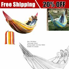 KORAMAN 150*200CM Double Person Portable Hammock Oxford Cloth Swing Hammock GA