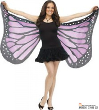 Butterfly Wings Costume Fairy Adult Soft Fabric Accessories Monarch New