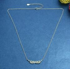 Gold Silver Color Plated Link Chain Trendy Necklace For Women