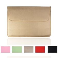 Leather Laptop Sleeve case Bag for Apple MacBook Air/Pro/Retina 11''13''15''inch
