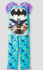 NWT DC COMICS LEGO BATMAN PAJAMA PANTS 2 PC SET YOUTH GIRLS SZ M - L