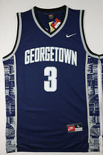 Allen Iverson Georgetown Hoyas #3 Throwback Embroidered NCAA Jersey