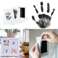 Baby Safe Print Ink Pad Hand Foot Prints Reuseable Home Art Craft Paper WT88