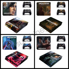Uncharted The Lost Legacy Decal For Sony PlayStation PS4 Slim Stickers Console