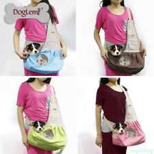 Pet Sling Carrier Dog Cat Puppy Tote Pouch Shoulder Carry Travel Bag Durable HP