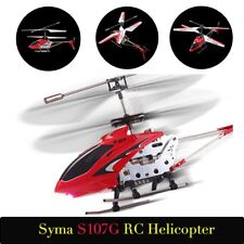 COOL! Syma S107G 3CH Remote Control Helicopter Alloy Copter with Gyroscope LOT K