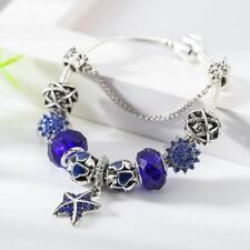 New Fashion Crystal Decorated Link Chain Charm Bracelet For Women