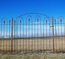 "42"" Tall Metal 4' Wide Wrought Iron Gate"