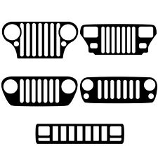 Jeep Grill Vinyl Decal CJ, YJ, XJ, TJ, JK