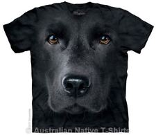 Black Labrador Face T-Shirt - Dog Breed Tees by The Mountain T-Shirts