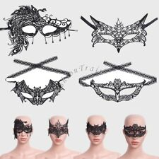 Halloween Sexy Women Eye Mask Lace Masquerade Party Cosplay Costume Prom Ball