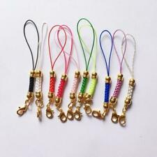 10pcs Mix-Colors Mobile Cell Phone Lanyard Cords Strap Lariat Lobster Clasp Gift