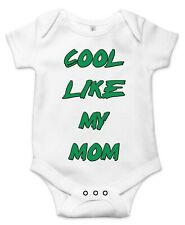 Cool like my mom, Cute Gift Baby Bodysuit By Apparel USA™
