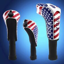 GOLF Driver Headcover Rescue Cover USA Flag For Taylormde M2 Callaway Long Sock