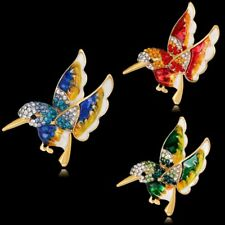 Fashion New Animals Flower Dragonfly Enamel Crystal Brooches Broach Pins Jewelry