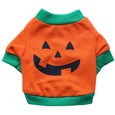 Pumpkin Small Dog Clothes Chihuahua Yorkie Halloween Dog Costume Puppy Shirt