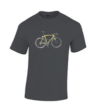 Chris Froome Pinarello f8 yellow tour  bicycle cotton T-shirt cycling  f10