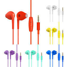 Stereo Subwoofer Earphone Handsfree Headset In-Ear Earbuds With Mic For IPhone