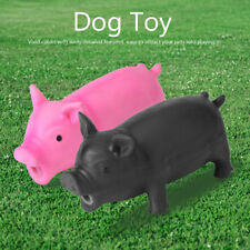 Cute Pet Pig Grunting Animal Squeaky Latex Kids Dog Toys Sound Puppy Chew Play