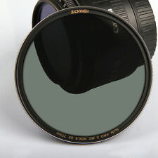 ZOMEI Slim Neutral Density Filter ND8 ND64 ND1000 Multi-coated 58/62/72/7782MM