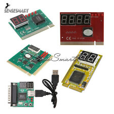 2 4 Digit 3 in1 PC Analyzer Analysis Diagnostic Card PCI PCI-E USB POST Card