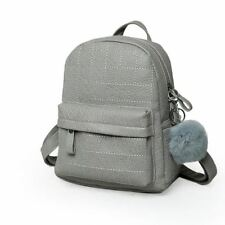 New Style Small Size Solid Color Long Strap Travel Backpack For Teenager Girl