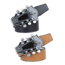 Western Cowboy Leather Strap Belt Country Music Buckle Country Waistband