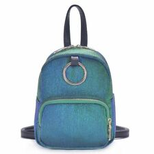 Simple Style 2 Candy Color Small Size Zipper Closer Backpack For Teenager Girl
