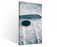 Canvas 1 Piece Ice Hockey Slice Puck Sports Game Canvas Pictures 9r160
