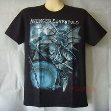 AVENGED SEVENFOLD A7X Heavy Metal Rock T-shirt Front & Back Printed New