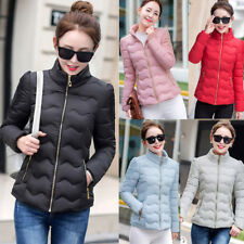 NEW Women's Winter Down Cotton Parka ShortHooded Coat Quilted Jacket Size L-3XL