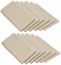 Set Napkins Polyester 15X15 Inch (12 Units) By Broward Linens (Variety of Color)