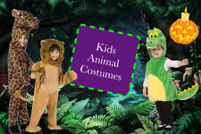 2017 New Toddler Kids Halloween Costume Size Zoo Animal Children Dress Up Party
