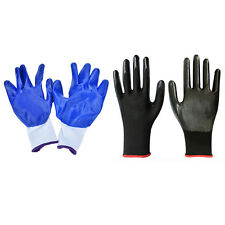 1/5 Pairs Worker Latex Rubber Work Labor Anti Prick Gloves Safely Gloves Ci