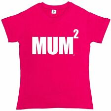 Mum Squared Funny Mothers Day Womens Ladies T-Shirt