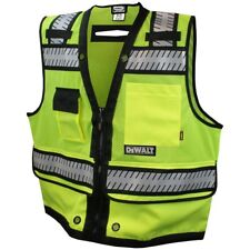 DeWALT Class 2 Heavy Duty Surveyor Safety Vest, Green