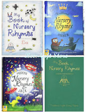 Personalised MY BOOK of NURSERY RHYMES Reading BOOKS  for BABY Boy Girl GIFTS