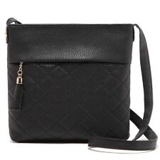 New Stylish Solid Color PU Leather Cross-Body Shoulder Bag For Women