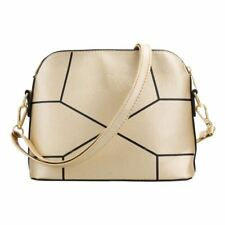 PU Leather New Stylish Solid Color Cross-Body Shoulder Bag For Women
