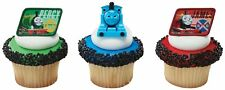Thomas The Train And Friends Assorted Cupcake Ring Toppers (Set Of 12)
