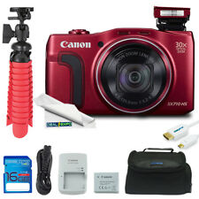 Canon PowerShot SX710 20.3MP Digital Camera (Red) + Expo Advanced Kit