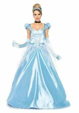 Cinderella Classic Fairytale Princess Ball Gown Costume Women's Fancy Dress