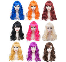 Women Long Big Wavy Wig Hair Cosplay Party Costume Hair Wigs