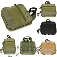 1000D Nylon Tactical Military EDC Utility Tool Bag Medical First Aid Pouch Case